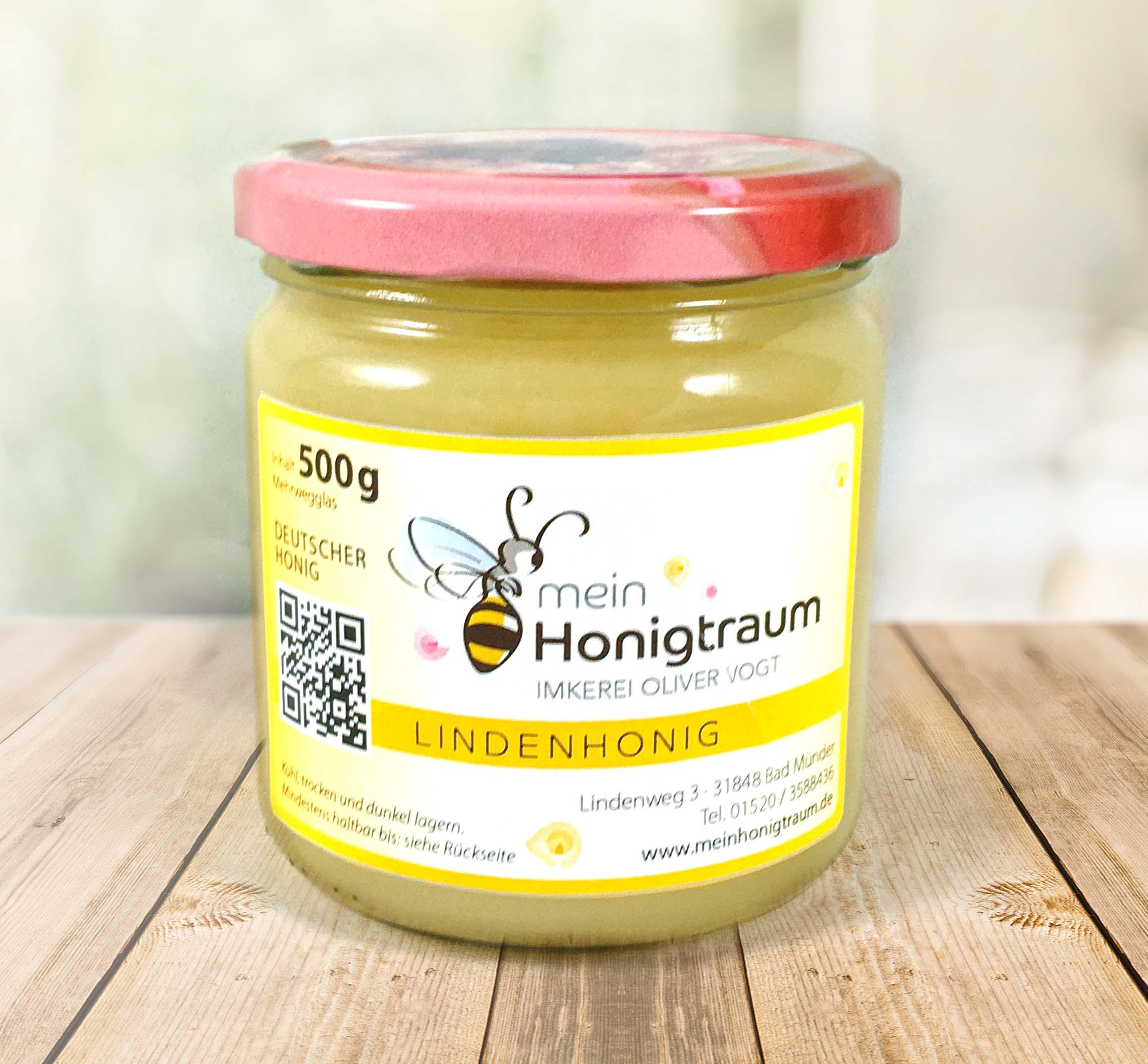Linden-Honig kaufen online bei Imkerei Vogt aus Bad Münder